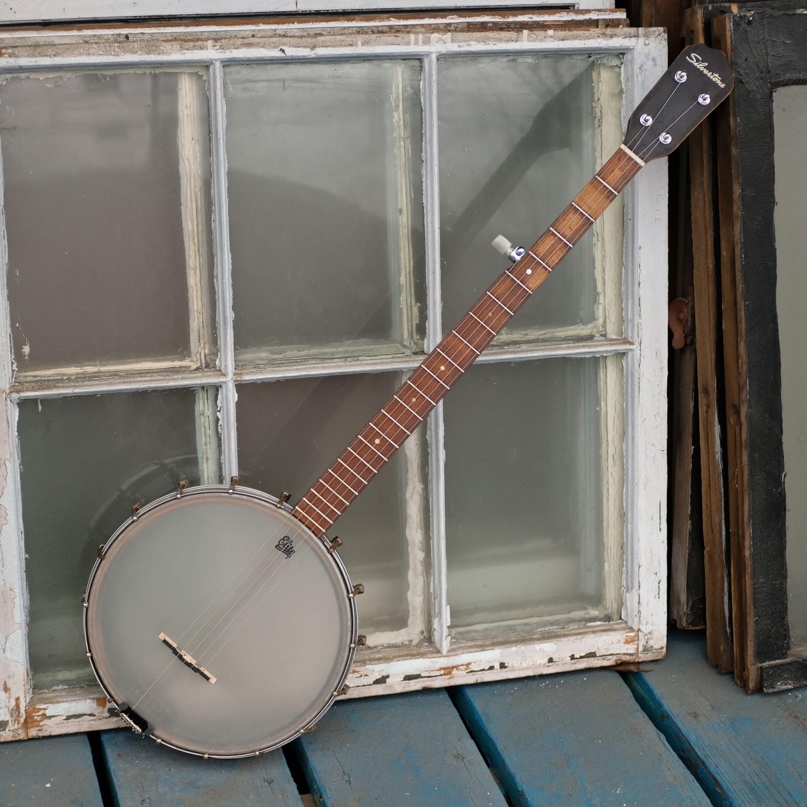 1950s Kay-made Silvertone 5-String Banjo