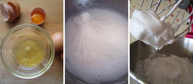 Masas batidas ligeras con huevos desclarados (Siempredulces) - Elaboración Paso 1