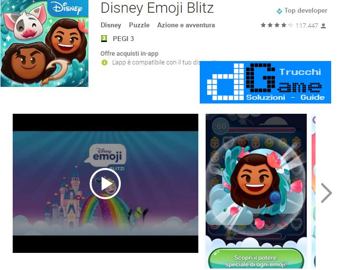 Trucchi Disney Emoji Blitz Mod Apk Android v1.6.4