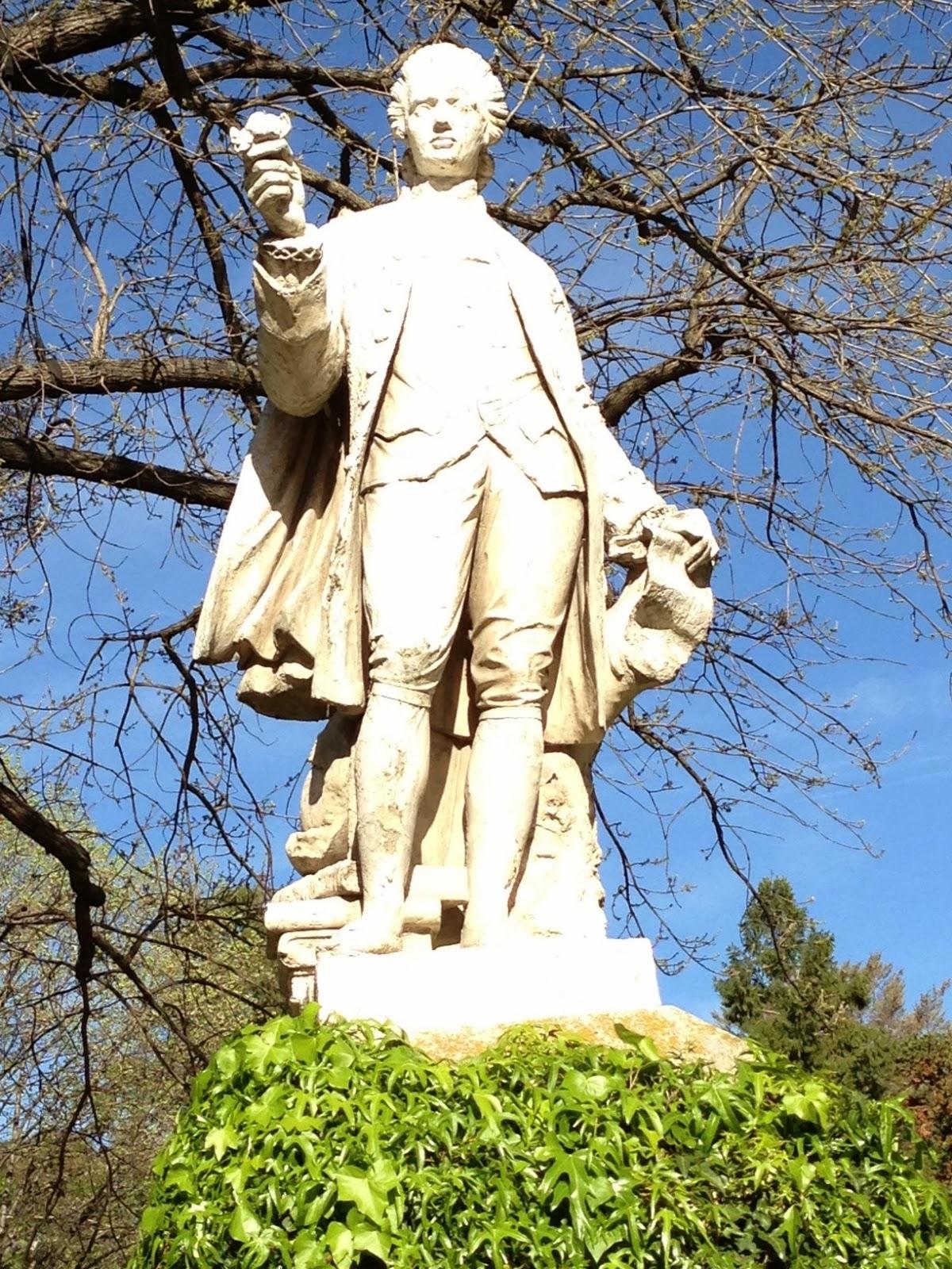 La Biblioteca Carpetana Estatuas Del Jardin Botanico - Estatuas-de-jardin