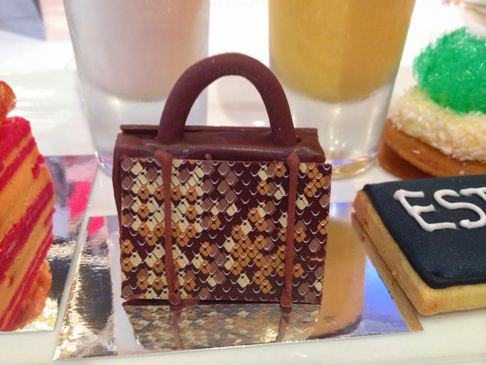 Mui Mui handbag review afternoon tea