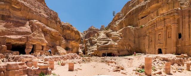 Tumba del soldado de Petra