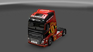 Manchester United skin for Volvo FH 2012