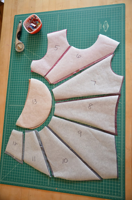 Sew by Pattern Pieces