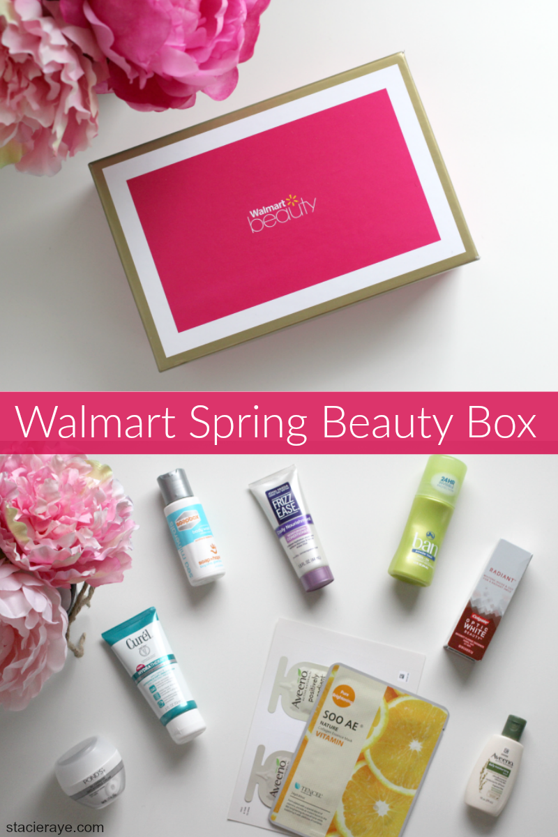 Walmart Beauty Box pinnable image