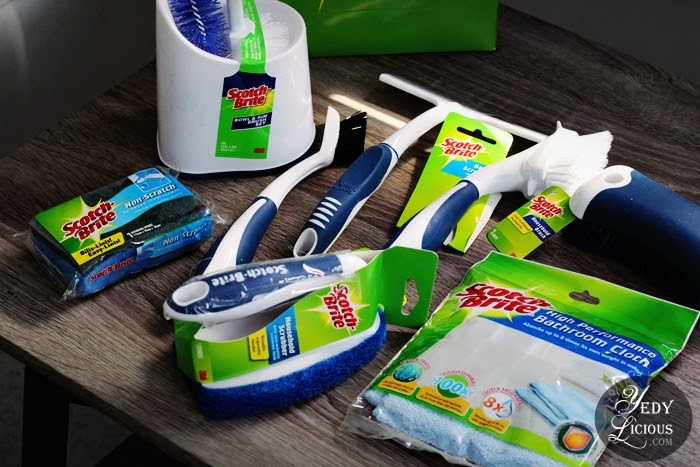 3M Scotch-Brite Household Cleaning Products Blog Review