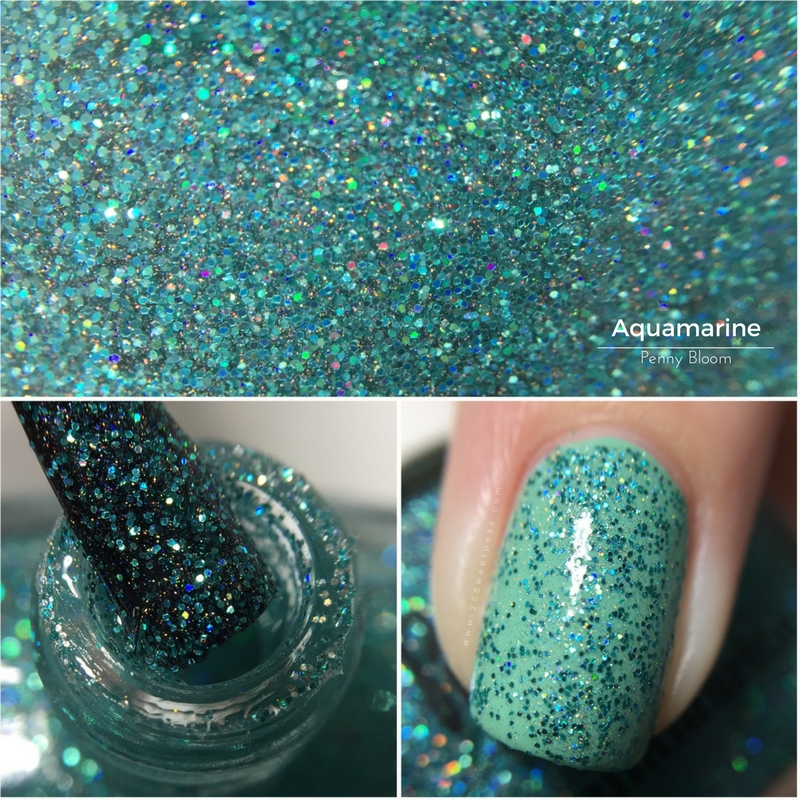 Penny Bloom Nail Polish Aquamarine