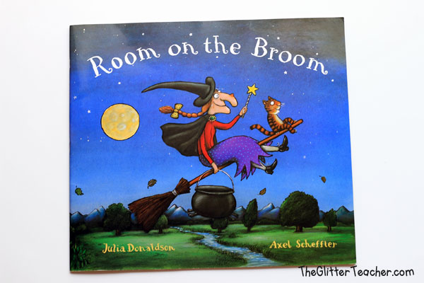 Cuento para inglés Room on the Broom
