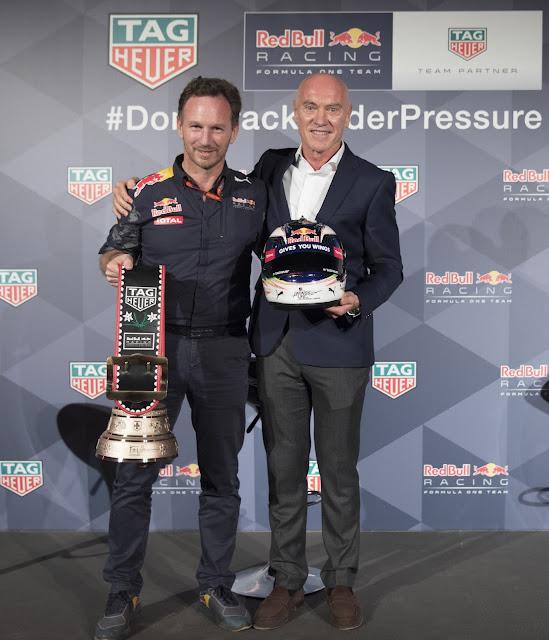 TAG Heuer y la escudería de Fórmula 1 Red Bull Racing