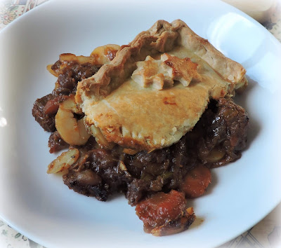 Leftover Stew Pie