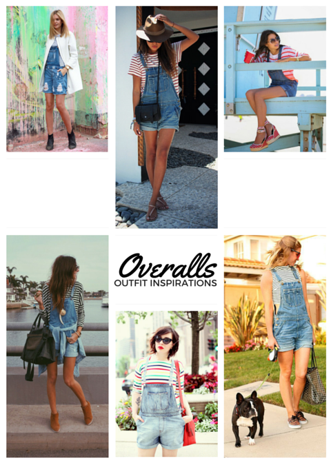 Overalls Outfit Inspiration - imyne fashion