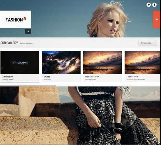 Fashion9 - Responsive Photography WordPress Theme