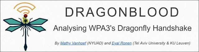 """Résultat de recherche d'images pour """"dragonblood wpa3"""""""