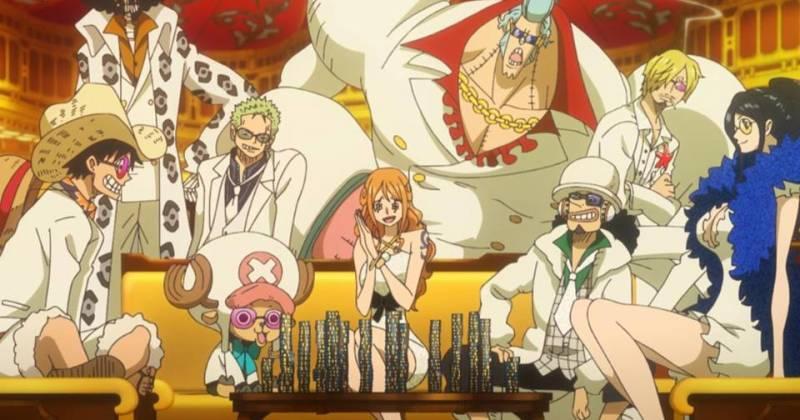 Hình ảnh One Piece Movie 1 -Đảo Châu Báu