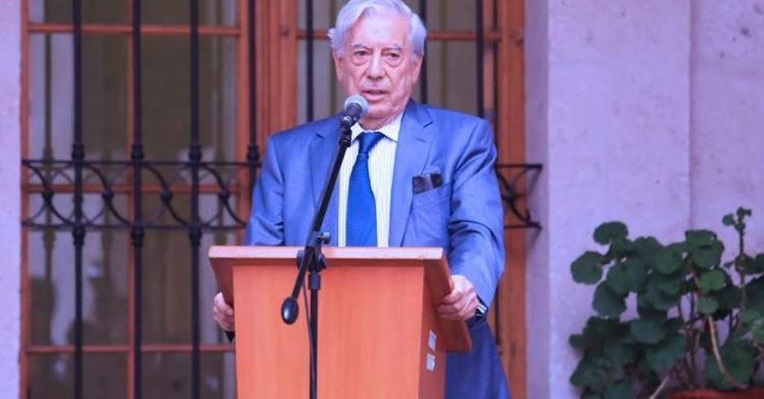 MARIO VARGAS LLOSA: Escritor propone a Arequipa como sede de próximo Congreso de la Lengua Española