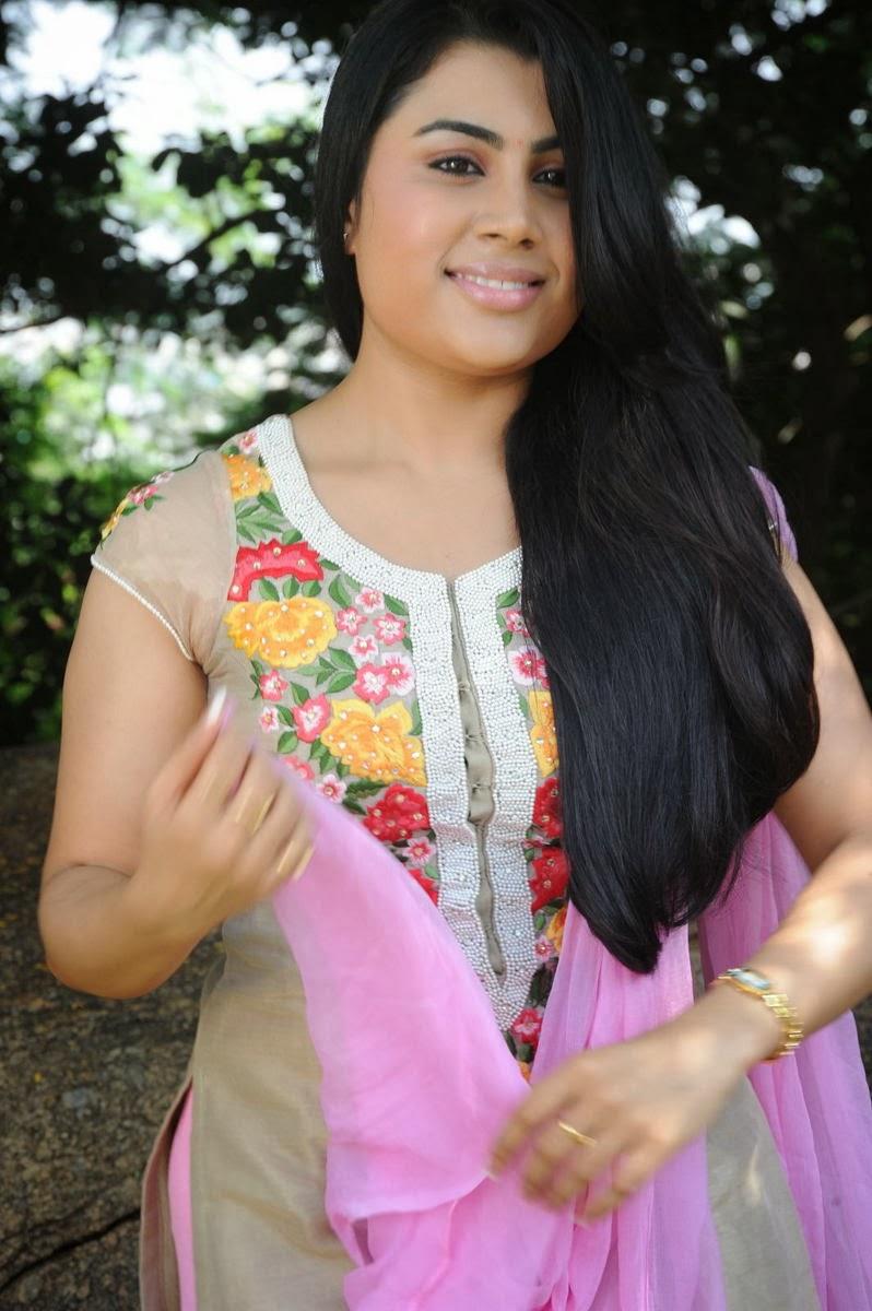 Rosy Sri bhoomika photos in pink ethnic salwar kameez