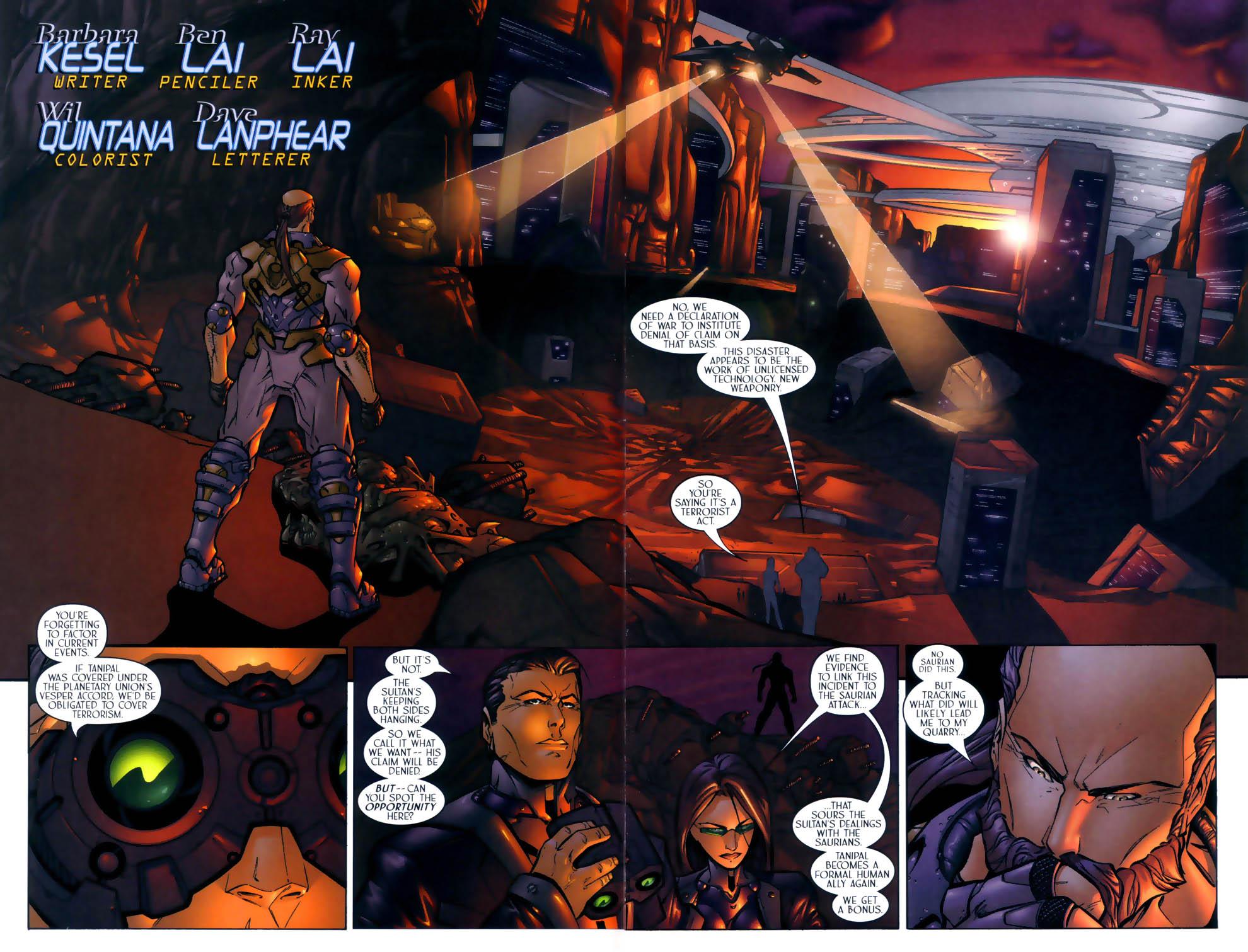 Read online Sigil (2000) comic -  Issue #2 - 4
