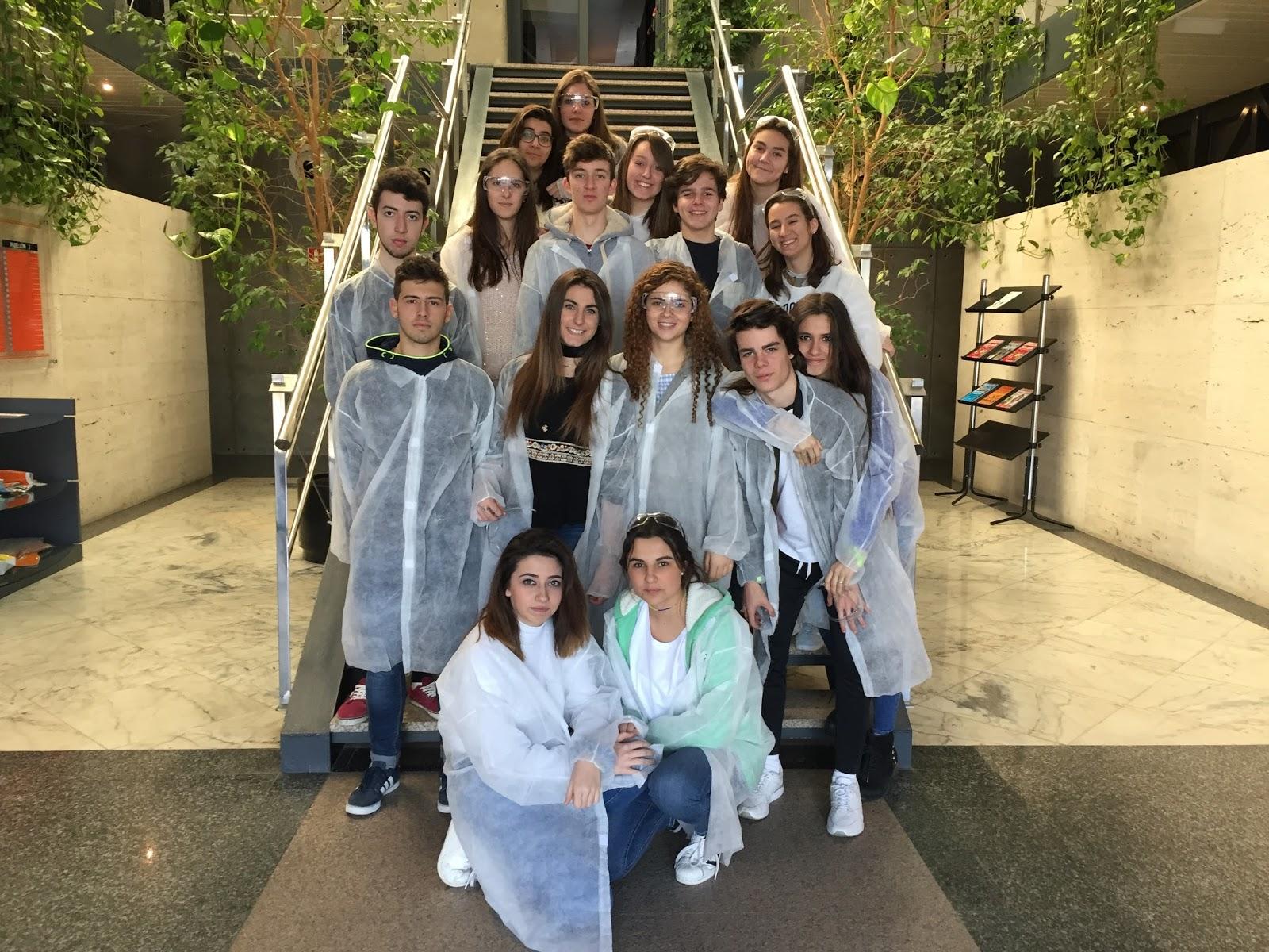 Agustinas Valladolid - 2017 - Bachillerato 2 - Visita Crystal Pharma 2