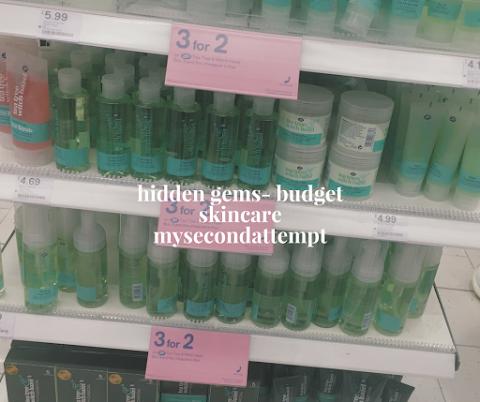 Hidden Gems- Budget Skincare