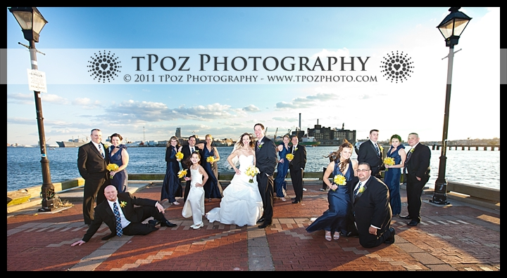 Fells Point Bridal Party Wedding