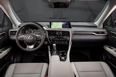 Interior Lexus RX