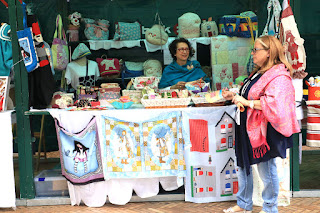 Feria artesana de las fiestas de Barakaldo
