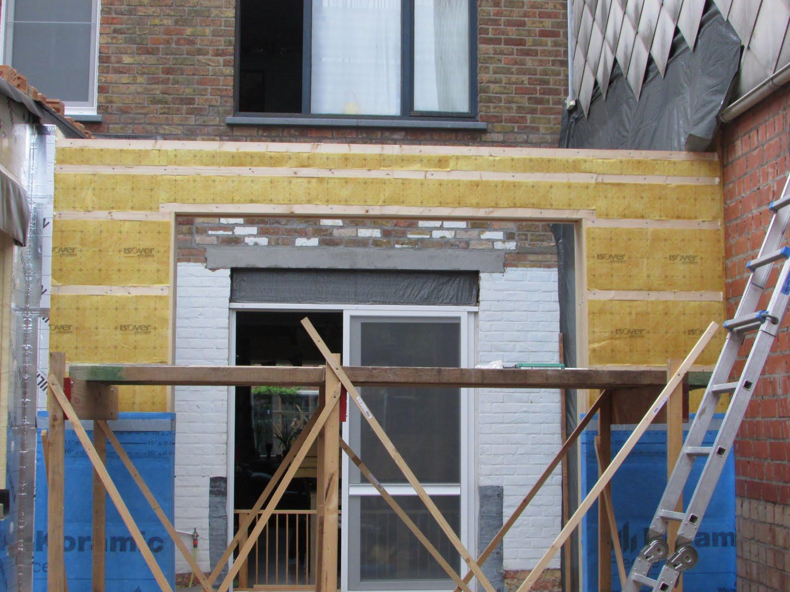Verbouwing van ons ouderlijk huis ruwbouw uitbreiding 29 - Stenen huis uitbreiding ...