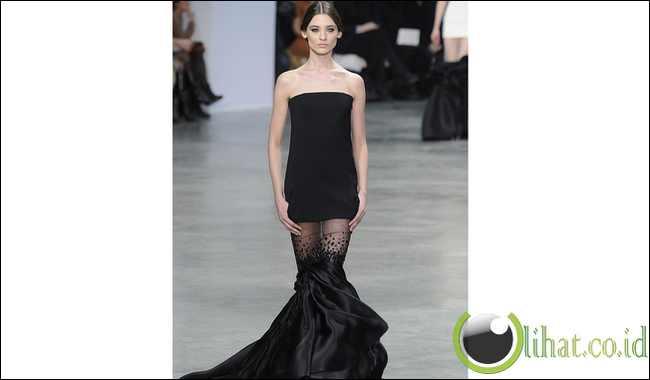 Gaun Mini Yang Panjang