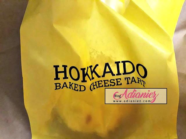 hokkaido cheese tart mahkota parade