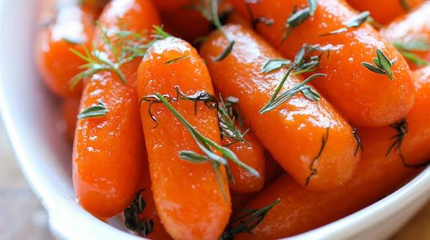 Zanahorias a la Miel