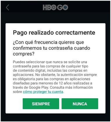 Iniciar sesión en HBO GO