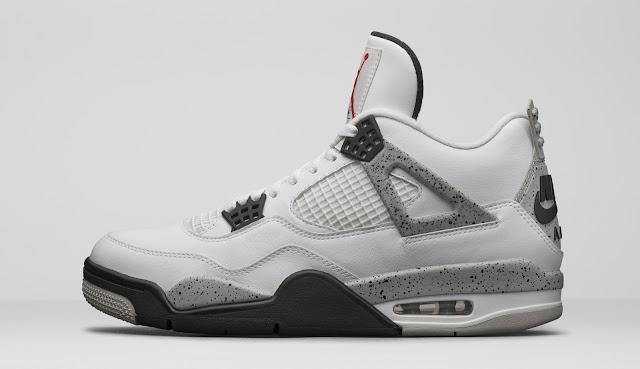 "Air Jordan IV ""White Cement"" Retro"