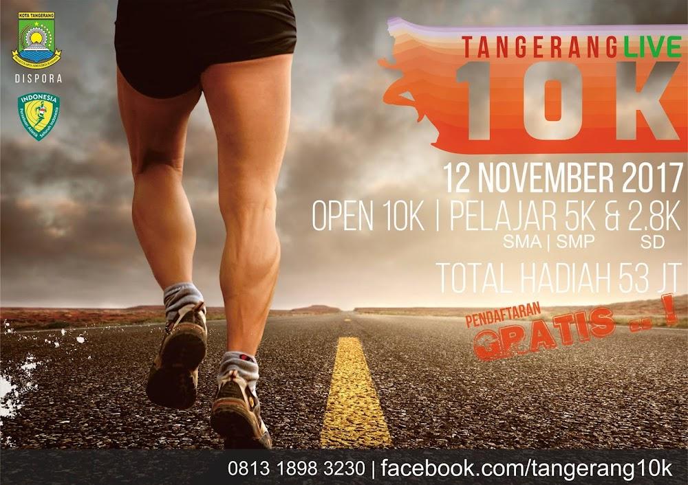 Tangerang Live 10K Run • 2017