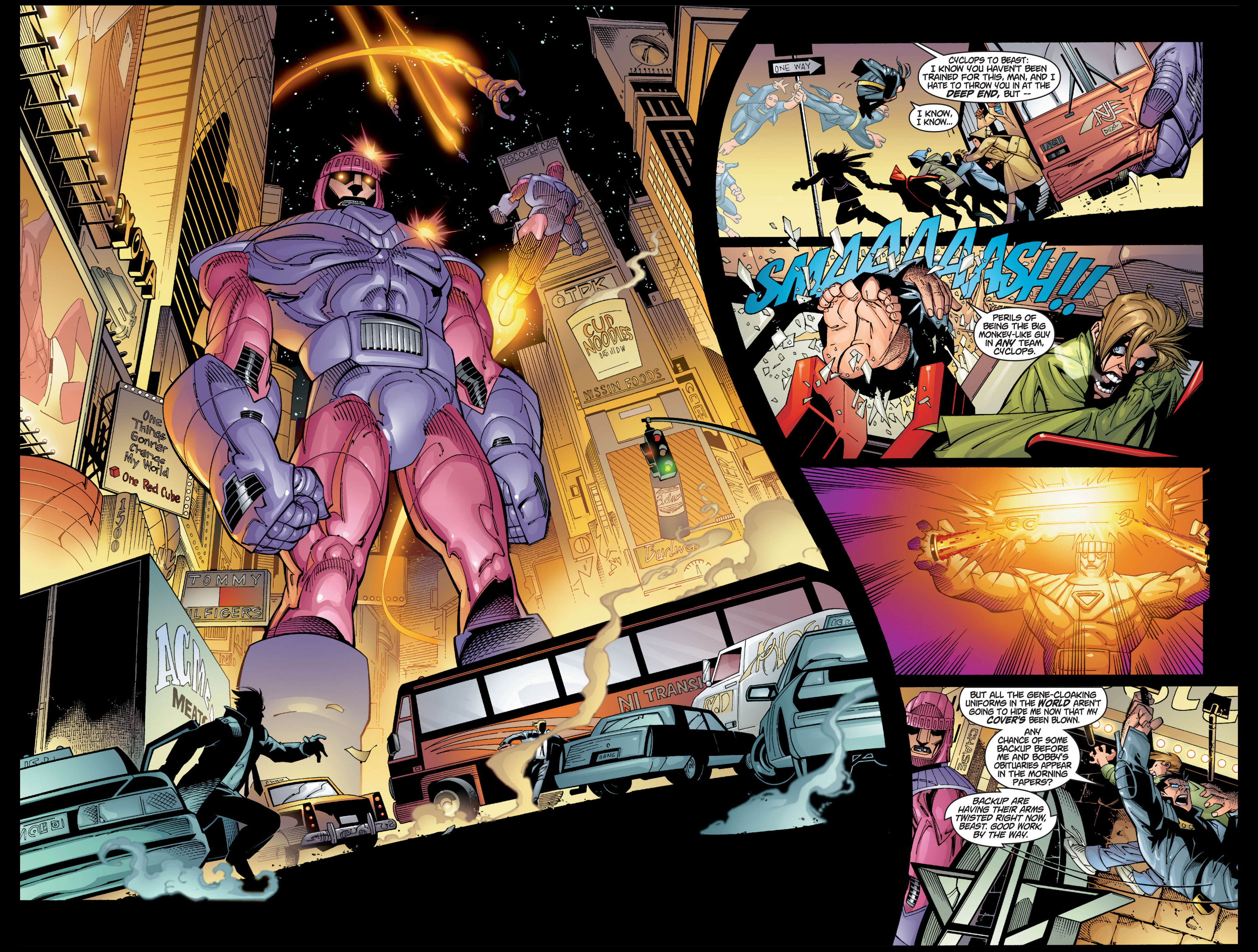 Read online Ultimate X-Men comic -  Issue #1 - 24