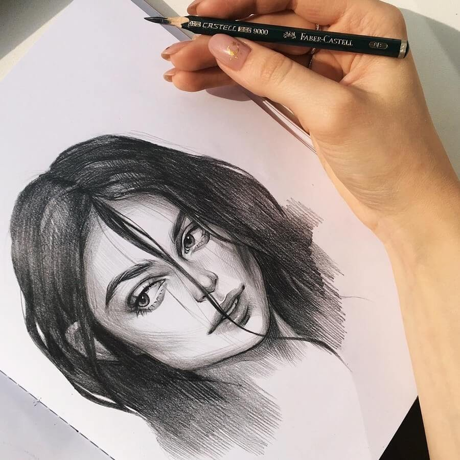 02-Alena-Kedavra-Pencil-and-Charcoal-Portrait-Drawings-www-designstack-co