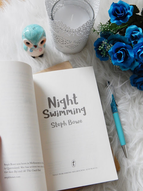 Night Swimming Book Review | sprinkledpages