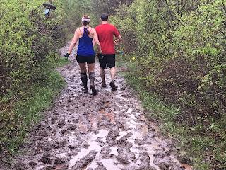 Muddy trails