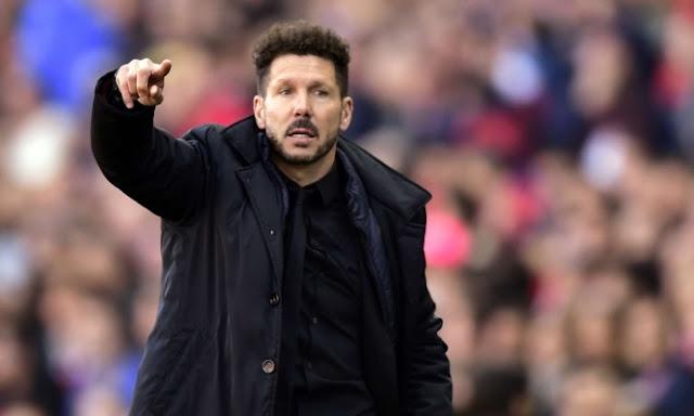سيميوني يعلق على وداع أتلتيكو مدريد لدوري الأبطال