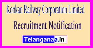 Konkan Railway Corporation Limited KRCL Recruitment Notification 2017