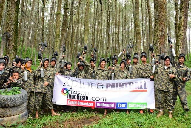 OUTBOUND PAINTBALL DI LEMBANG | Sekolah Polisi Wanita