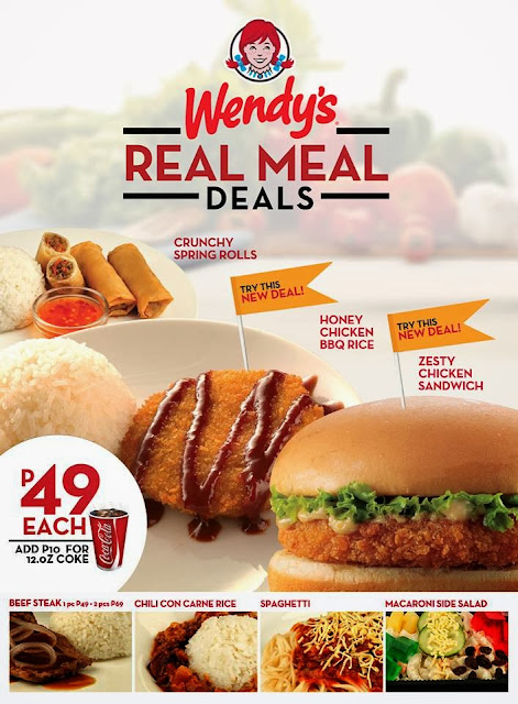 Wendy's Real Meal Deals