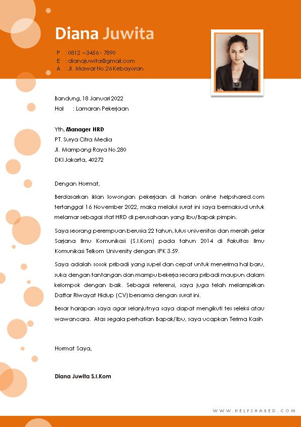 Kop Surat Lamaran Kerja 20