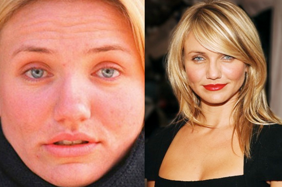 Cameron Diaz No Make Up