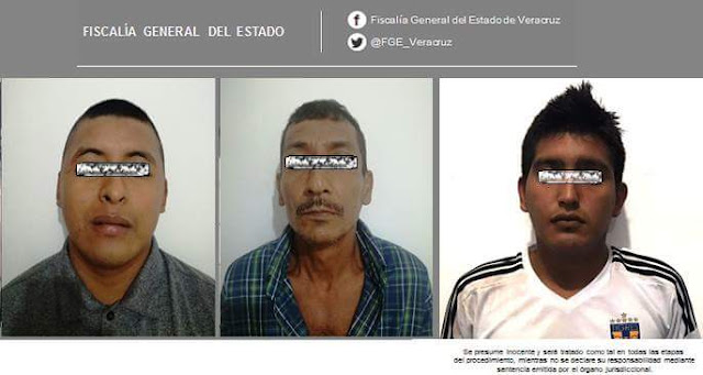 Detiene Policía Ministerial a tres imputados por delitos patrimoniales, en Cosamaloapan y Santiago Tuxtla
