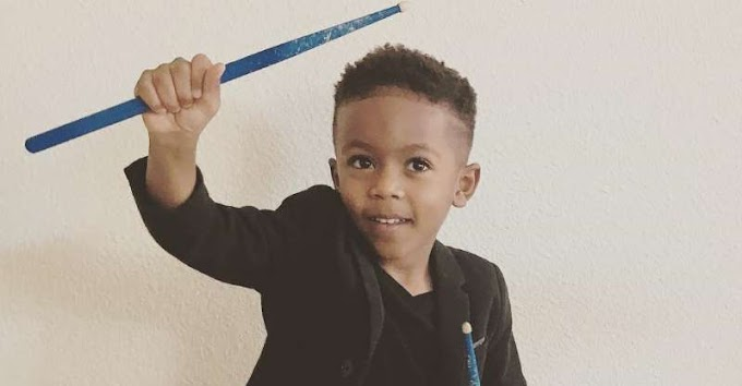 Adorable 4-year-old drummer wows the internet with his moves
