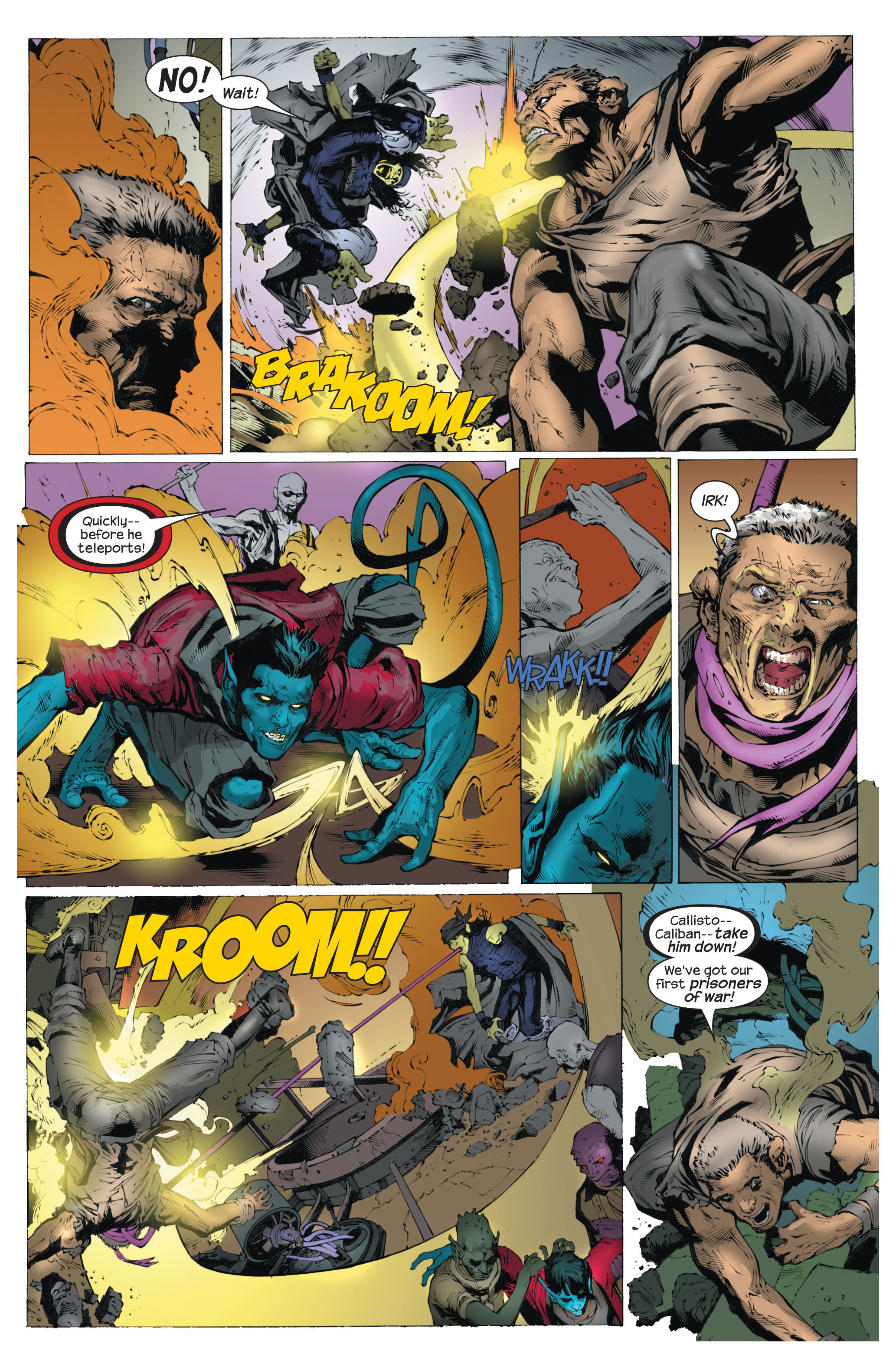 Read online Ultimate X-Men comic -  Issue #82 - 16