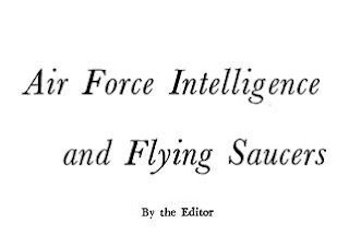 The Saucers That Time Forgot