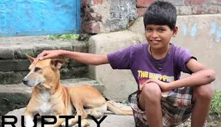 Bocah 10 Tahun Ketagihan Minum Susu Anjing