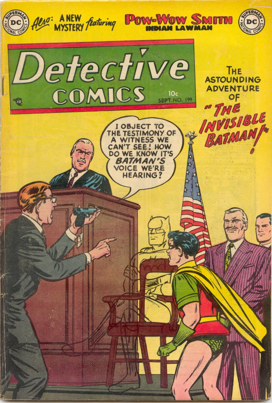Detective Comics (1937) 199 Page 0