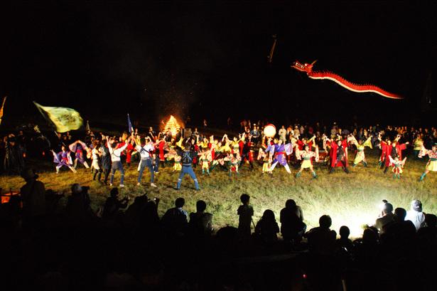 Enshu Hamakita Hiryu Matsuri (kite festival), Hamamatsu City, Shizuoka Pref.